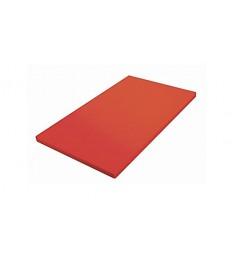 Pjaustymo lenta 1 1, h-2cm, raudona, polipropileno