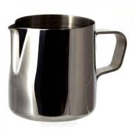 Ąsotėlis pienui šildyti 7x7 cm, 0,25l, metalinis, su rankena