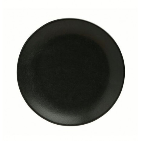 Apvali lėkštė GRAPHITE Ø18 cm, juoda