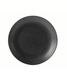 Apvali lėkštė GRAPHITE Ø30 cm, juoda