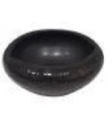 Dubenėlis Black Satin ø6,5x2,7cm, 50ml, juodas, 24 vnt. dėž.