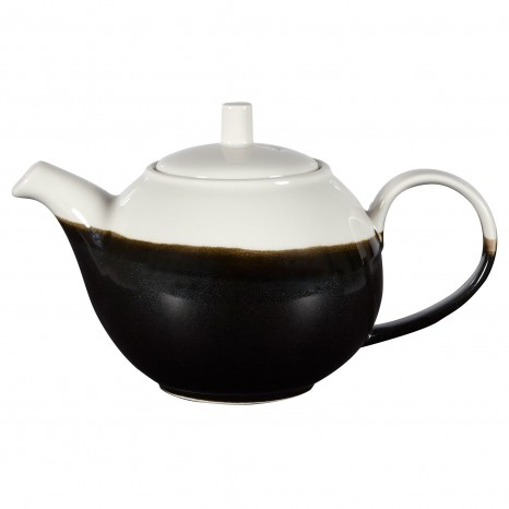 Arbatinis Onyx 426 ml, juodas su baltu