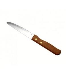 Peilis steikui Jumbo 25 cm, medinė rankena