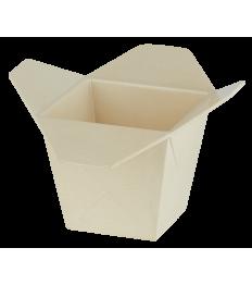 Dėžutė makaronams 17x17x11cm, bambuko pluošto