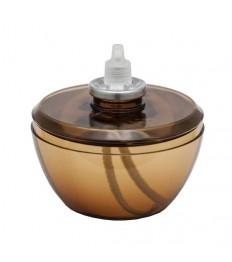 Papildymas žvakei Moonlight mini (dega 60h) H-9cm, ruda sp. (žvalidei 9822)
