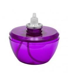 Papildymas žvakei Moonlight mini (dega 60h) H-9cm, violetinė sp., (žvakidei 9823)