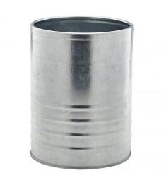 Indelis - skardinė stalo serviravimui cinkuoto plieno, 1,3 l, h-14,5 cm