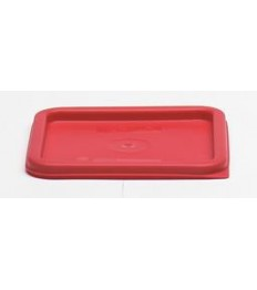 Dangtelis produktų indui CAMBRO (raudonas, kvadratinis) (tinka 5.7 ir 7.6l indams)
