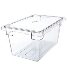 Konteineris maistui laikyti CAMBRO iš polikarbonato (skaidrus) [30.5x46cm, h-23cm, 18l]