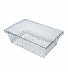 Konteineris-rėtis CAMBRO iš polikarbonato (skaidrus) [h-20cm]