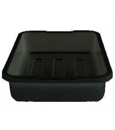 Dėžė nešvarių indų surinkimui CAMBRO Cambox (juoda) [38.9 x 50.6 x 12.5 cm]