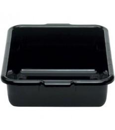Dėžė nešvarių indų surinkimui CAMBRO (juoda, su rankenomis) [38,7 x 51,4 x 12,5 cm]