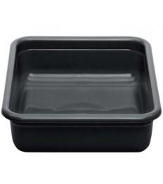 Dėžė nešvarių indų surinkimui CAMBRO (juoda) [42,9 x 55,6 x 12,1 cm]