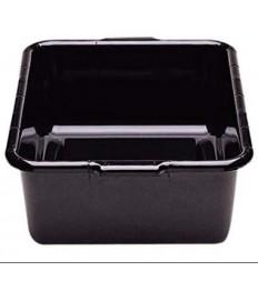 Dėžė nešvarių indų surinkimui CAMBRO Cambox (juoda, su rankenėlėmis) [38,7 x 51,4 x 12.5 cm]