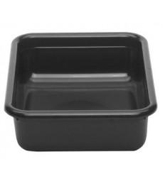 Dėžė nešvarių indų surinkimui CAMBRO Cambox [38.9 x 50.6 x 12.5 cm] juoda