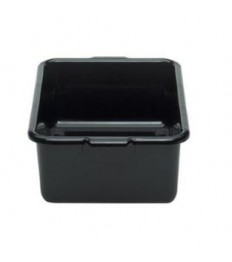 Dėžė nešvarių indų surinkimui CAMBRO (juoda, su rankenėlėmis) (38,7 x 51,4 x 12.5 cm)