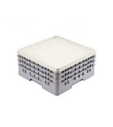 Dangtis CAMBRO indų krepšiams (pilkas) (50x50x2.4cm )