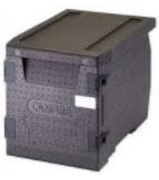 EPP Front GN indų transportavimo dėžė GoBox su durelėmis (juoda) (60 l) 64x44x47,5cm