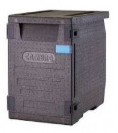 EPP Front GN indų transportavimo dėžė GoBox su durelėmis (juoda) [86 l]