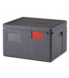 EPP Top GN indų transportavimo dėžė GoBox (juoda) (1 GN1 2, h-15cm; 16,9 l)