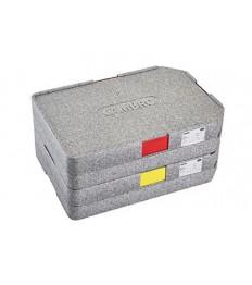 EPP termopadėklas GoBox CAMBRO 37 x 53 x 11,8 cm, pilkos sp., be indų