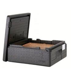 EPP dėžė picai PizzaBox juoda, 10 cm
