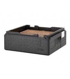 EPP dėžė picai PizzaBox juoda, 17,5cm