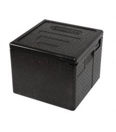 EPP dėžė picai PizzaBox juoda, 26,5 cm
