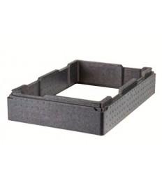 EPP paaukštinimas Top GN indų transportavimo dėžėms GoBox (juodas) GN1 1, vid.išm. 53,8x33,8x9,9cm