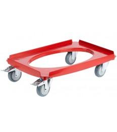 Vežimėlis EPP transportavimo dėžėms GoBox (raudonas)