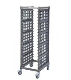 Padėklų vežimėlis CAMBRO (814x648x1813 mm), metalinis, telpa 20 padėklų