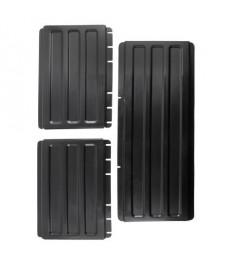 Papildomos šoninės lentynos CAMBRO (juodos) [vežimėliui BC340KD]
