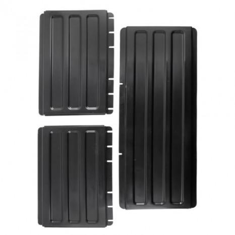 Papildomos šoninės lentynos CAMBRO (juodos) (vežimėliui BC340KD)