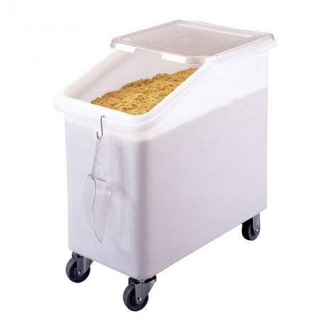 Birių produktų vežimėlis CAMBRO (baltas) (42x75x71cm; 102l)