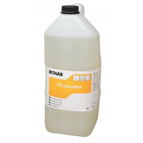 Alkoholinis dezinfekantas P3-ALCODES paviršių dezinfekcijai 5L, maisto pramonei