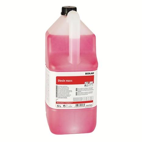 Rūgštinė sanitarinių patalpų plovimo-dezinfekcijos priemonė DIESIN MAXX (5l)