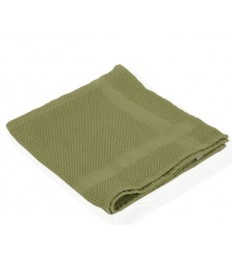 Mikropluošto rankšluostis Green-Tex virtuvei 50x75 cm, žalias