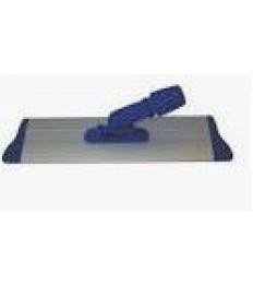 Laikiklis Velcro Alu grindų šluostei 40x10 cm, mėlynas