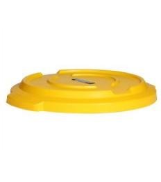 Dangtis mobiliai šiukšliadėžei RC-2003 geltonas, polietileno