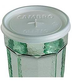 Dangtelis stiklinei LT10 CAMBRO (su anga šiaudeliui, skaidrus)