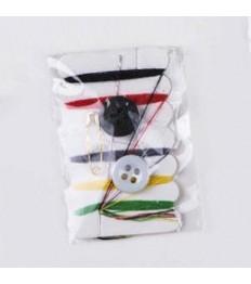 Siuvimo rinkinys plastikiniame maišelyje