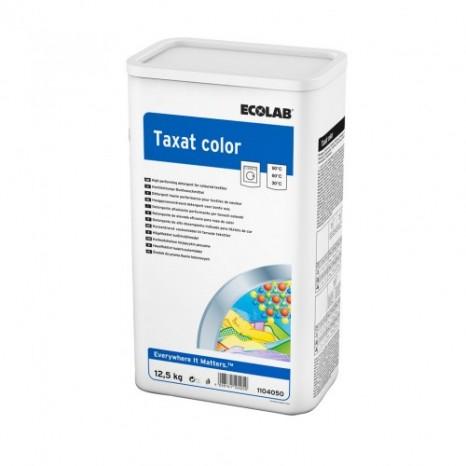 Skalbimo milteliai spalvotiems audiniams TAXAT COLOR 12,5 kg