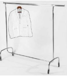 Rėmas kabinti rūbams La bottega 150 x51 x155cm, chromuotas