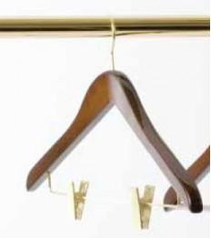 Pakaba su segtukais kelnėms La Bottega 46cm, medinė
