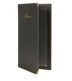 SECURIT meniu segtuvas Classic A4 aukštis A5 plotis, 36x18x1 cm, juodas