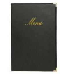 SECURIT meniu segtuvas Classic A4, 34x24x1 cm, juodas