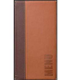 SECURIT meniu segtuvas Trendy A4 aukštis A5 plotis, 36x18x1 cm, šv. rudos sp.