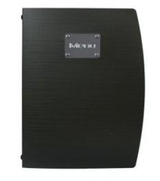 SECURIT meniu segtuvas Rio A4, 34x25x1 cm, juodos sp.