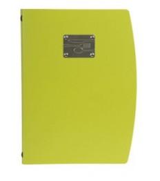 SECURIT meniu segtuvas Rio A4, 34x25x1 cm, žalios sp.