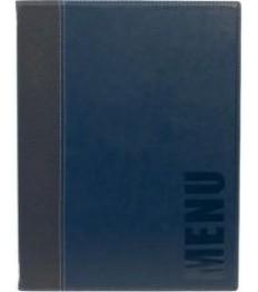 SECURIT meniu segtuvas Trendy A4, 34x24x1 cm, mėlynos sp.